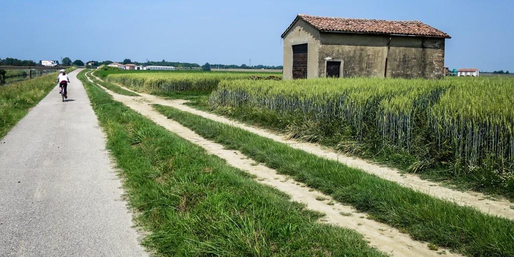 via facebook - Vento in bicicletta da Venezia a Torino lungo il fiume Po