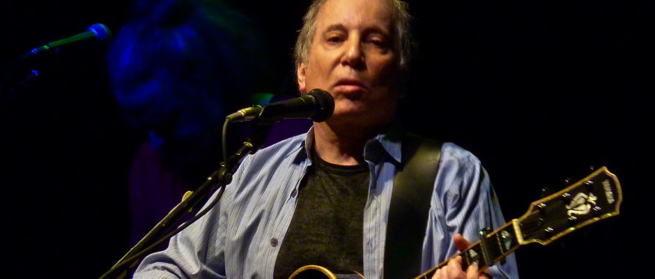 via Wikipedia Paul Simon