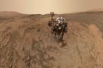 Marte a 360 gradi: ecco lo scatto di Curiosity