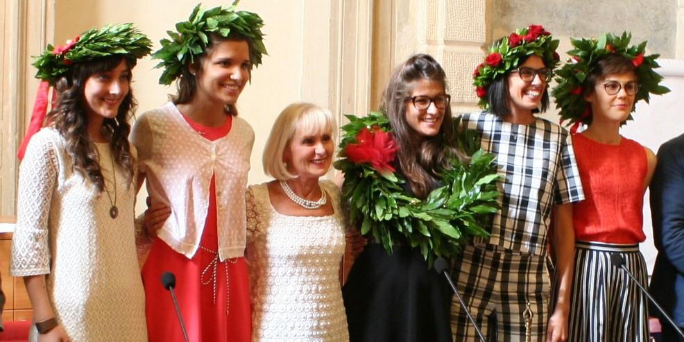 Prime cinque laureate