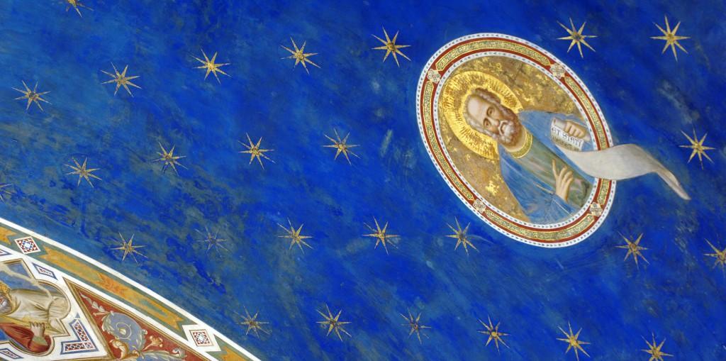 cappella degli scrovegni stelle
